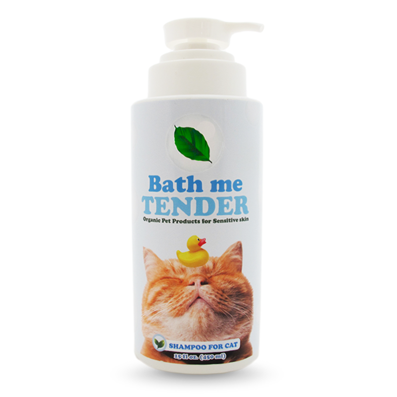 Bath me tender Cat Shampoo แชมพูแมว ออร์แกนิค ธรรมชาติ