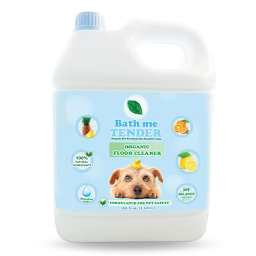 Bath me tender Organic Floor Cleaner น้ำยาถูพื้น ออร์แกนิค ธรรมชาติ สำหรับสุนัข แมว