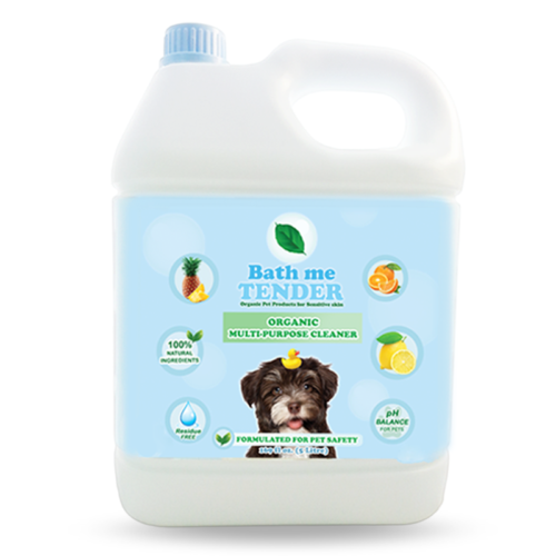 Bath me tender Organic Multi-Purpose Cleaner สเปรย์ทำความสะอาดอเนกประสงค์ ออร์แกนิค ธรรมชาติ สำหรับสุนัข แมว