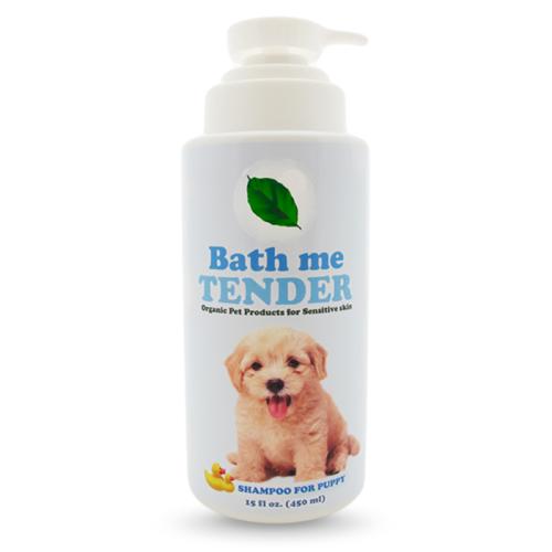 Bath me tender Organic Puppy Shampoo แชมพูลูกสุนัข ออร์แกนิค ธรรมชาติ