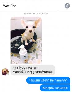 รีวิว แชมพูลูกสุนัข Organic Puppy Shampoo Review - Bath me Tender - รันรี่2
