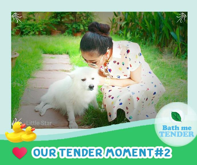 Bath me Tender - Tender Moment - รูปหมาน่ารัก - 20-8-59 - จุ๊บจิ๊บและน้องซูโม่