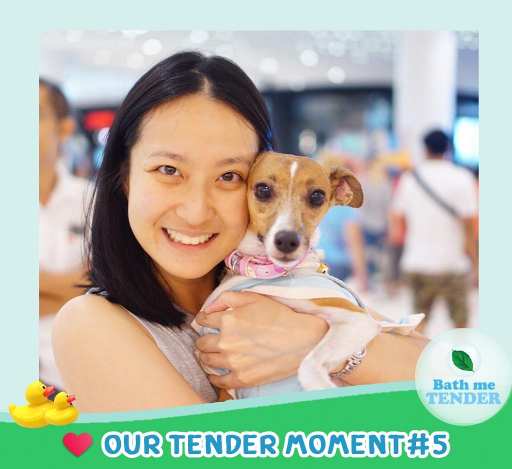 Bath me Tender - Tender Moment - รูปหมาน่ารัก - 10-9-59 - คุณนพและจับฉ่ายน้อย 2
