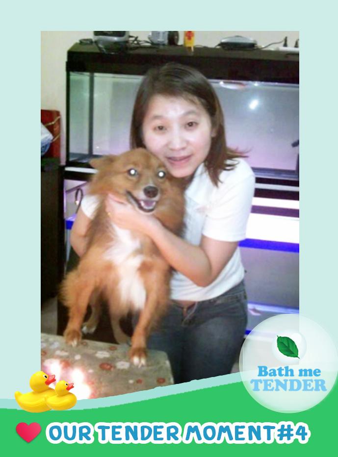 Bath me Tender - Tender Moment - รูปหมาน่ารัก - 3-9-59 - สุพรและน้องกล้วยหอม 2